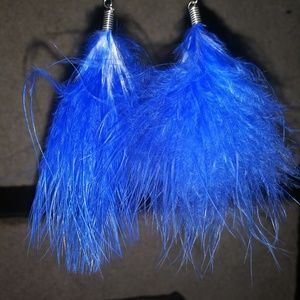 Jewelry - Nwot feather earrings